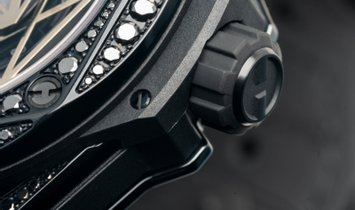 415.CX.1114.VR.1700.MXM17 Hublot Big Bang Sang Bleu Steel Black