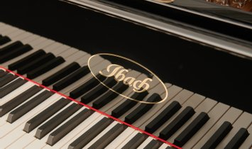 Antique German concert grand piano