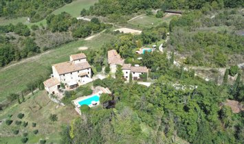 Farm Ranch in Montone, Umbria, Italy 1