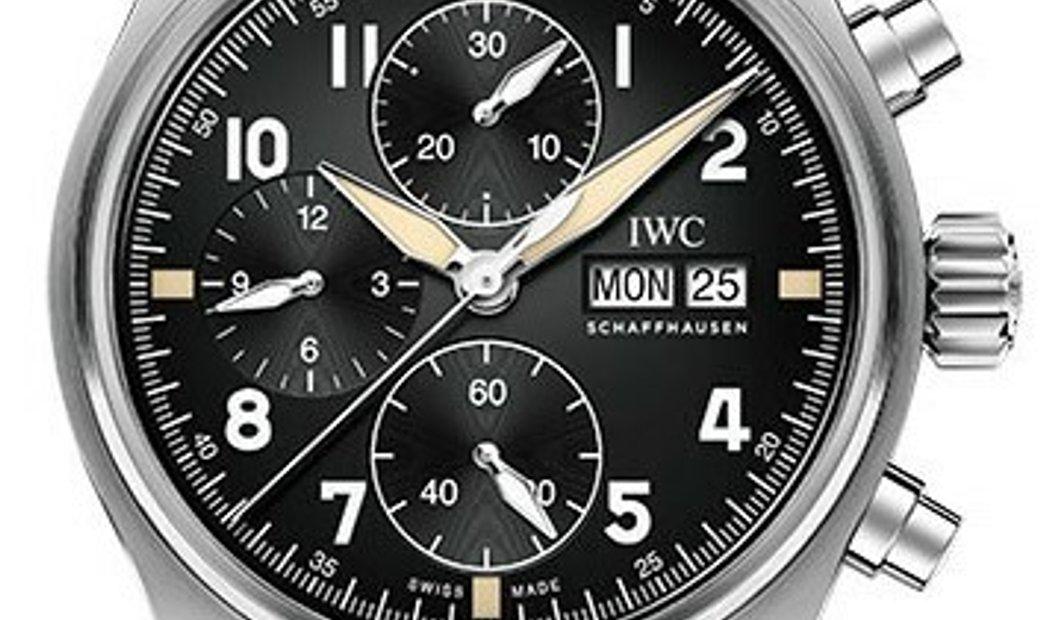 IWC PILOT'S WATCH CHRONOGRAPH SPITFIRE STEEL 41MM IW387903