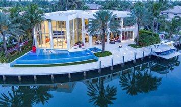 Casa en Lighthouse Point, Florida, Estados Unidos 1