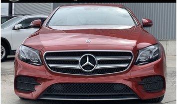 2018 Mercedes-Benz E-Class E 400 4MATIC®
