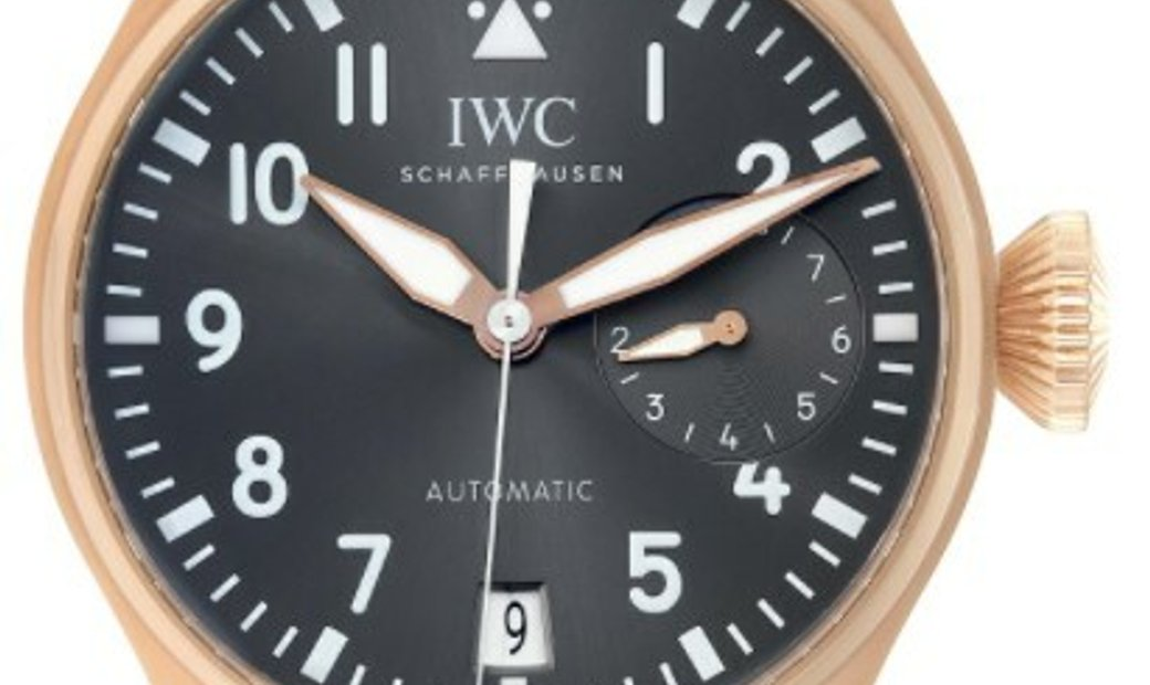 IWC BIG PILOT'S WATCH SPITFIRE AUTOMATIC RG 46.2MM IW500917