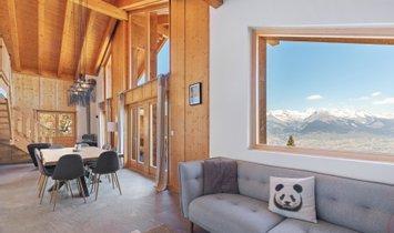 Haus in Nendaz, Wallis, Schweiz 1