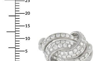 LB Exclusive LB Exclusive 18K White Gold 1.45 ct Diamond Ring