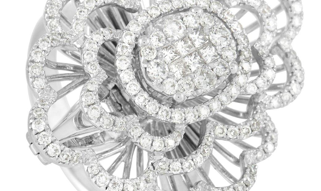 LB Exclusive LB Exclusive 18K White Gold 1.20 ct Diamond Ring