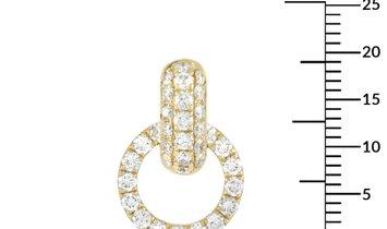 LB Exclusive LB Exclusive 18K Yellow Gold 2.00 ct Diamond Earrings