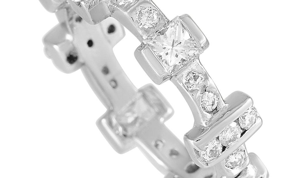 LB Exclusive LB Exclusive Platinum 1.28 ct Diamond Ring