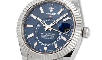 Rolex Rolex Sky-Dweller Blue Dial Watch 326934