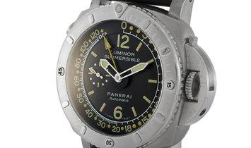 Officine Panerai Officine Panerai Luminor Submersible Depth Gauge Watch PAM193