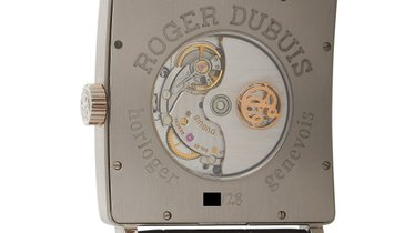 Roger Dubuis Roger Dubuis Golden Square Mother of Pearl 18K White Gold Watch DBGS0322