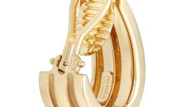 Tiffany & Co. Tiffany & Co. 18K Yellow Gold Bar Clip-On Earrings