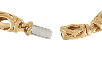Cartier Cartier Double C 18K Yellow Gold Necklace