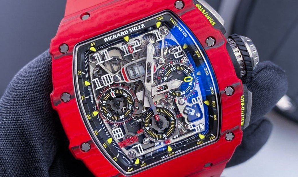 Richard Mille [2019 LIKE NEW] RM 11-03 Red Quartz TPT NTPT Annual Calendar