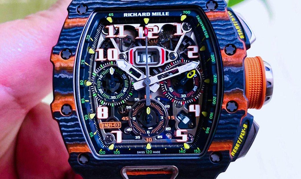 Richard Mille [2019 LIKE NEW] RM 11-03 McLaren