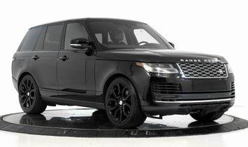 2018 Land Rover Range Rover 5.0L V8 Supercharged $115,876 MSRP