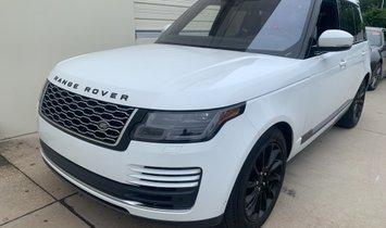 2018 Land Rover Range Rover 3.0L V6 Supercharged HSE