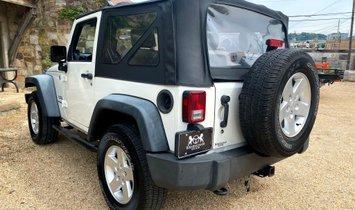 2010 Jeep Wrangler 4WD 2dr Sport