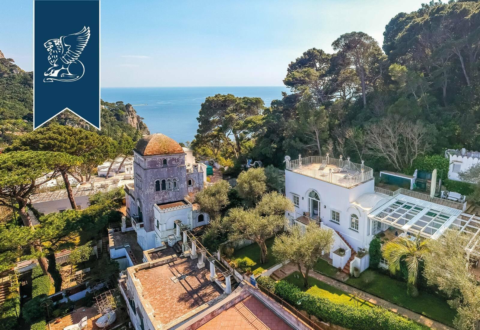 Villa a Capri, Campania, Italia 1 - 11437873