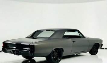 1967 Chevrolet Chevelle RestoMod   +650hp Supercharged LT4 Powered   Willwood