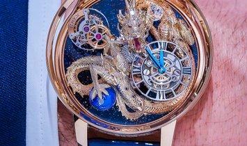 Jacob & Co. 捷克豹 [NEW] Astronomia Tourbillon Dragon AT112.40.DR.SD.A (Retail:HK$10,000,000)
