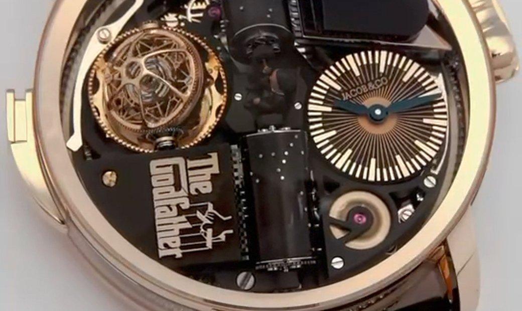 Jacob & Co. 捷克豹 [NEW] Opera Godfather Musical Watch Rose Gold Black Barrels (Retail:HK$3,800,000)