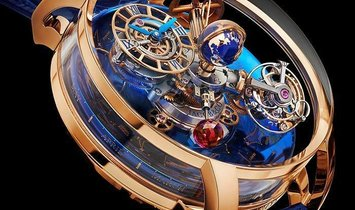 Jacob & Co. 捷克豹 [NEW] Astronomia Sky Sapphire Mars AT113.40.AA.AA.A (Retail:HK$6,800,000)