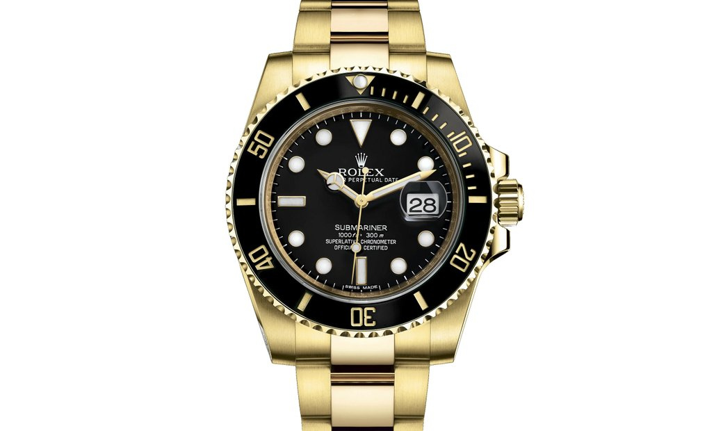 PROFESSIONAL ROLEX OYSTER PERPETUAL SUBMARINER DATE  116618LN