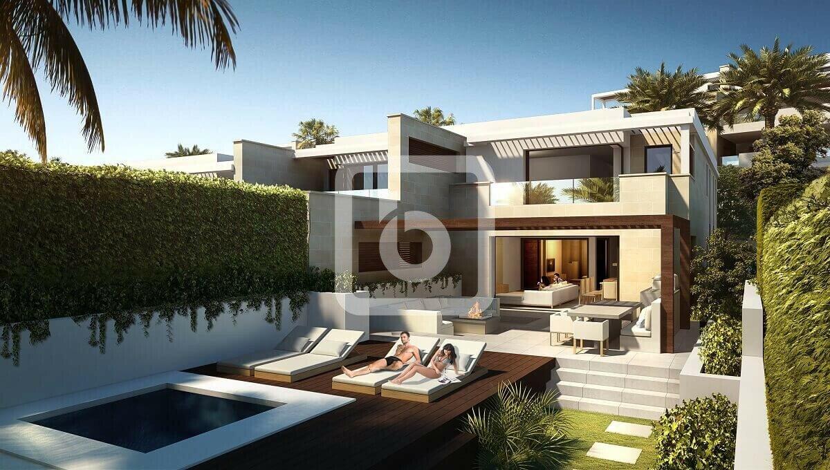 Villa a Estepona, Andalusia, Spagna 1 - 11446552