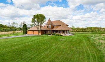 Haus in Perrinton, Michigan, Vereinigte Staaten 1