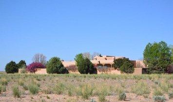 Maison à El Prado, Nouveau-Mexique, États-Unis 1