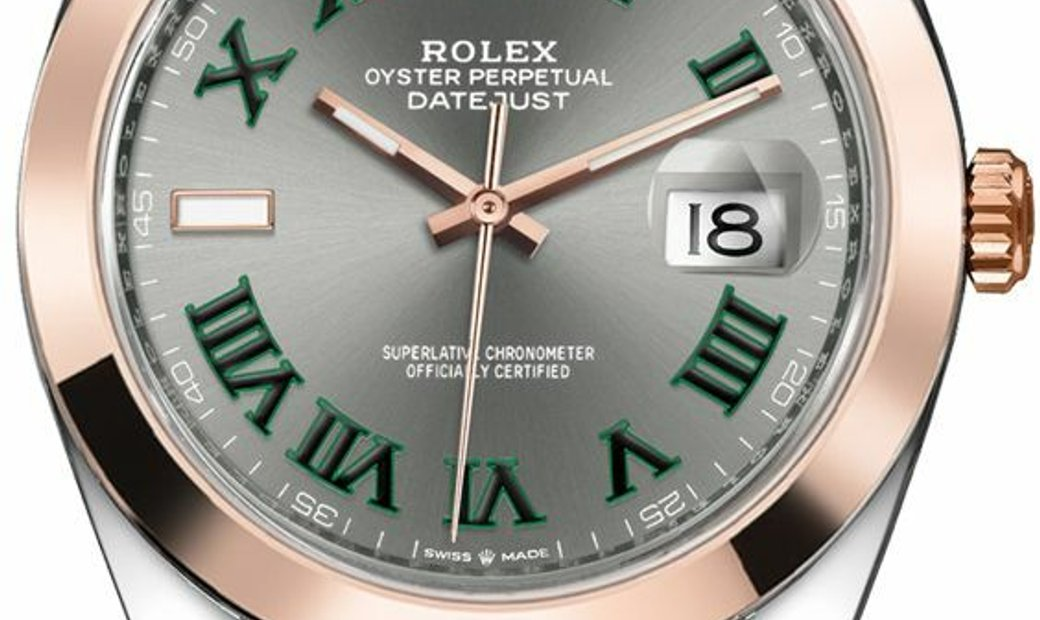 ROLEX OYSTER PERPETUAL DATEJUST 126301 SLGRO