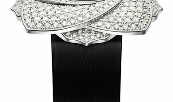 PIAGET LIMELIGHT BLOOMING ROSE 34MM WHITE GOLD WITH DIAMONDS  G0A39182