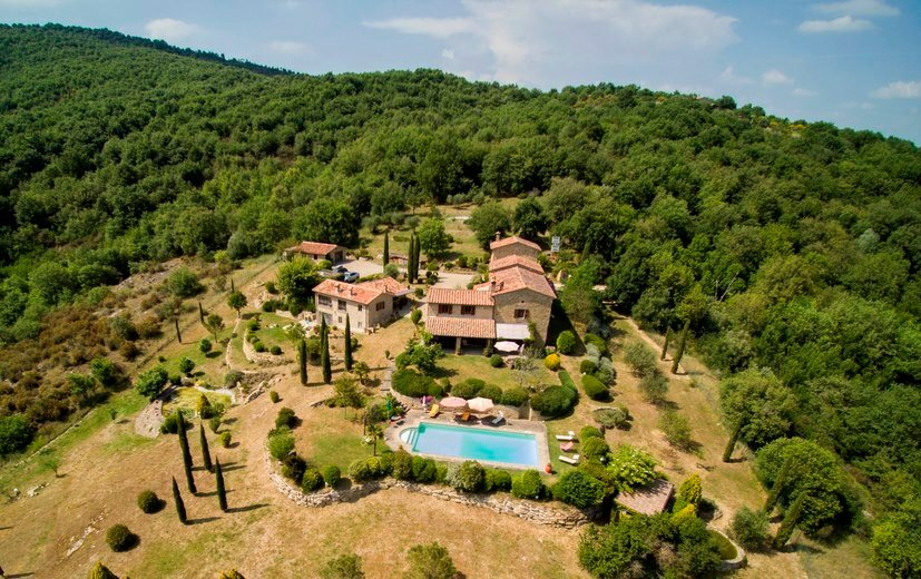 Country House in Lisciano Niccone, Umbria, Italy 1