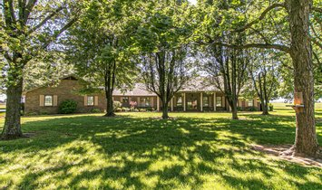 Maison à New Madrid, Missouri, États-Unis 1