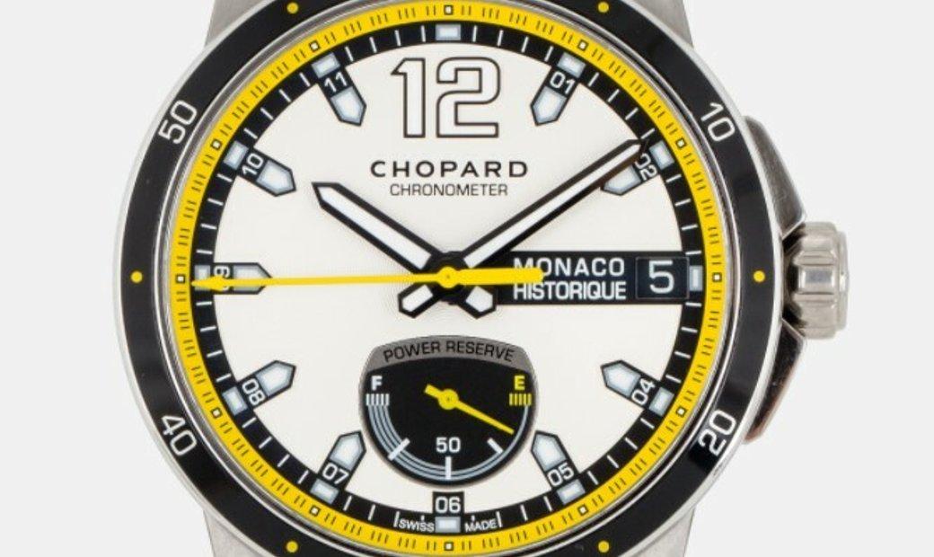 CHOPARD GRAND PRIX DE MONACO HISTORIQUE POWER CONTROL 44.5MM 158569-3001