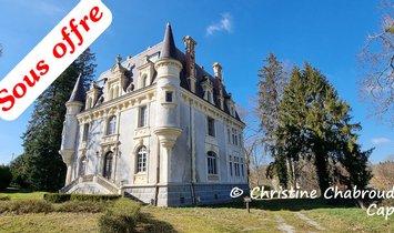 Castle in Aubusson, Nouvelle-Aquitaine, France 1