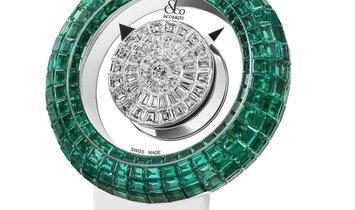 Jacob & Co. 捷克豹 [NEW MODEL] Brilliant Mystery Baguette Emeralds (Retail:HK$4,200,000)