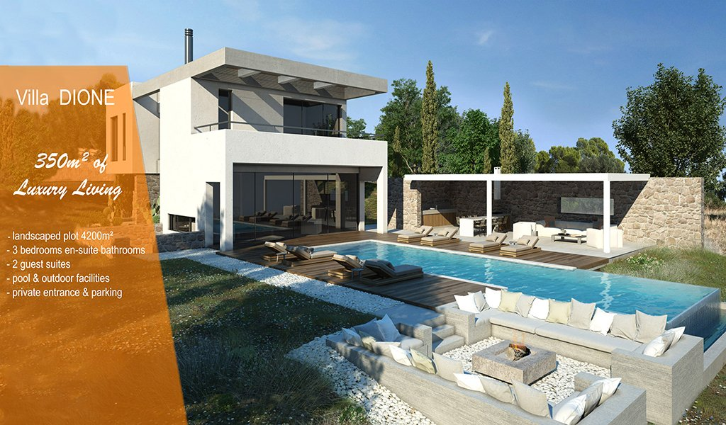 Villa in Decentralized Administration of Peloponnese, Western Greece and the Ionian, Greece 1 - 11477521