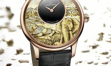 Jaquet Droz 雅克德罗 [NEW] Petite Heure Minute Elephant Mosaic J005033280 (Retail:CHF 97'200)