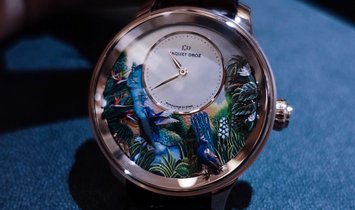 Jaquet Droz 雅克德罗 [NEW] Tropical Bird Repeater J033033202 (Retail:CHF 626'400)