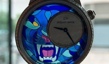 Jaquet Droz 雅克德罗 [NEW] Petite Heure Minute Smalta Clara Tiger J005504500 (Retail:CHF 56'200)