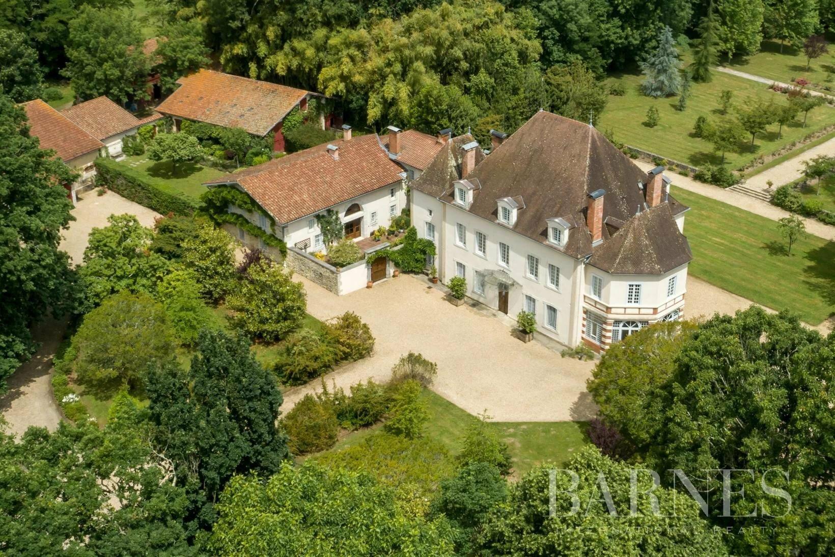 Castle in Biarrotte, Nouvelle-Aquitaine, France 1