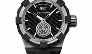 CONCORD C1 BIG DATE AUTOMATIC STEEL BLACK DIAL 44MM 0320011