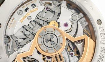 Audemars Piguet 26393CR.OO.A009CR.01 18K Pink and White Gold