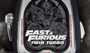 Jacob & co. 捷克豹 [NEW] Fast & Furious Twin Turbo Limited (Retail: US$580,000)