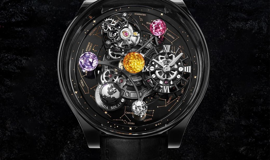 Jacob & Co. 捷克豹 [NEW] Astronomia Solar Planets and Constellations Titanium