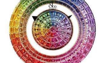 Jacob & Co. 捷克豹 [NEW MODEL] Brilliant Mystery Rainbow 44mm Watch