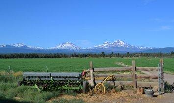 Corps de ferme à Sisters, Oregon, États-Unis 1