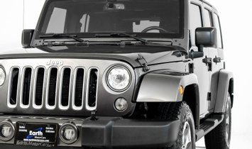 2017 Jeep Wrangler Unlimited Sahara Removable Top